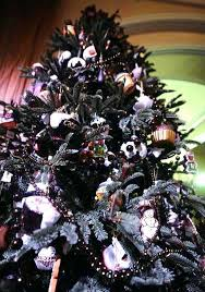 Black Christmas Tree Decorations Decoration Decorating Themes