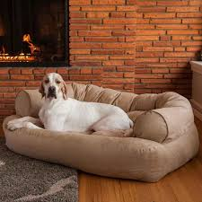 Snoozer Cozy Cave Pet Bed by Snoozer Overstuffed Sofa Pet Bed Centerfieldbar Com