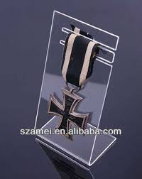 2017 L Shape Acrylic Medal Display Stand Holder
