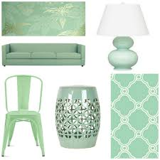 Coral Colored Decorative Items by How To Decorate A Room Using Mint Green