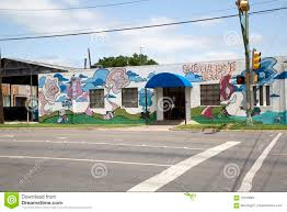 Deep Ellum Wall Murals by Graffiti On White Wall Editorial Stock Image Image 70759094