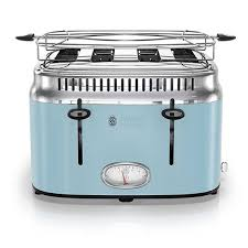Russell Hobbs 4 Slice Retro Toaster Heavenly Blue TR9250BLR
