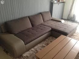 canapé d angle taupe achetez canapé d angle taupe quasi neuf annonce vente à