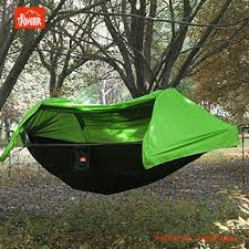 Patent Outdoor Camping Hammock With Mosquito Net And Hammock Bug