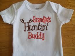 grandpa s hunting buddy baby boy hunting onesie by babytweets