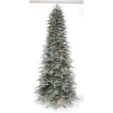 9 Slim Christmas Tree Prelit by 9 U0027 Prelit Slim Frost Stowe Tree With 700 U0026 59 C7 Ul Lights