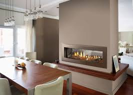 Living Room With Fireplace In The Middle by Unveiling New Crave Linear Gas Fireplace Series Heatilator