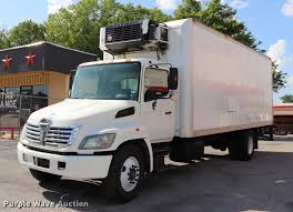 100 Rebuildable Trucks 2006 Hino 268 Refrigerated Truck Item DK9569 SOLD Augus