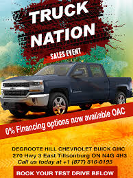 DeGroote-Hill Chevrolet Buick GMC Is A Tillsonburg Chevrolet, Buick ... Truck Nation Gmc Game Review Trucknation Quality Preowned Trucks Means Better Mud Home Facebook Random Nyc Food Books Cupcakes And Cats Chasing Pin By Gib Graham On Chevy Trucks Pinterest Revolution Chevrolet Buick In High Prairie Ab Vacancytrucknationweb1200x650jpg Regal Bacon Toronto Nova Centresnova Centres 2016 Denali 2500 Nasty Photo Image Gallery Open Beta Announcement Youtube