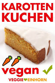 saftiger veganer karottenkuchen