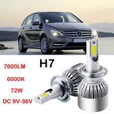 h7 led headlight kit bulbs for b200 c230 c240 c250 c280 c300