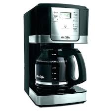 Wall Mount Coffee Maker Industrial Makers Sunbeam Pot Cup Glass Replacement Mounted Advanced Brew Programmable Black