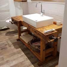 baddesign waschtisch aus hobelbank s l loftart