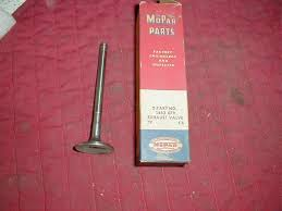 100 1946 Dodge Truck Parts NOS Mopar Exhaust Valve 58 DeSoto Chrysler 6