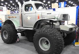 100 Stacey David Trucks Sgt Rock Pick Up Truck
