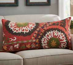 Pottery Barn Decorative Pillows by Howell Suzani Lumbar Pillow Cover Pottery Barn