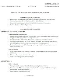 Example Of A Functional Resume For Student 14