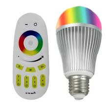 color changing rgbw led bulb with remote 3000k color changing