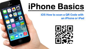 iPhone Basics iOS How to scan a QR Code with an iPhone or iPad