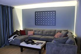 inspired led accent lighting living room wall wash