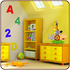 décoration jungle chambre bébé des stickers jungle et savane afrique pour votre déco chambre enfant