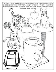 Coloring Sheets Of Dogs And Cats Pages Dog Cat Ideas Free