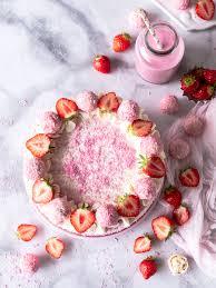 erdbeer kokos torte s lieblingsstücke