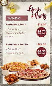Express Party Menu | Pizza Hut Singapore Sign Up For Pizza Hut Wedding Favors Outdoor Wedding How To Use Pizzahut Coupon Codes Pizza Hut Dixie Direct Savings Guide 799 Promo Eatdrinkdeals Malaysia Coupons Promotions 2019 Shopcoupons On Twitter 30 Off Menupriced Items Pi Day The To Get Free Gift Card Generator Cupon 100 Warking Papa Johns Coupon Codes Cheese Sticks Hot Uk Deals Xbox One Console Member Exclusive Express Hk30 Off Hong Kong Hothkdeals Is Offering 3 Regular Pizzas Only Up 6270