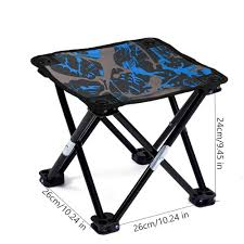 Efuture Folding Camping Stool With Carry Bag Oxford Cloth Quickly-Fold  Slacker Chair Portable Lightweight Outdoor Chair For BBQ Camping Fishing  Travel ...