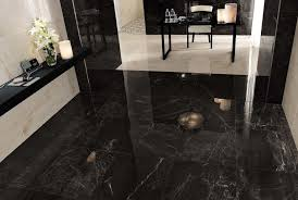 black tile flooring houzz regarding black tile flooring modern