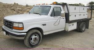 1995 Ford F350 Dually Flatbed Truck | Item 4762 | SOLD! Octo...