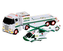 100 Hess Truck Toy And Helicopter 2006