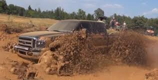 100 Mud Racing Trucks Massive Powerstroke Does The Bogging Thing Fordcom
