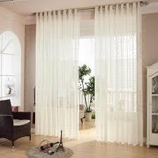 jacquard curtain window balcony permeability light curtains for