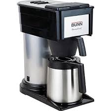 Bunnreg 10 Cup Coffee Maker With Carafe Black Stainless Steel
