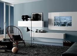 Blue Gray White Living Room And Ideas With Combination Bedroom Inspired Photos