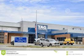 Tag Truck Center, Memphis, TN Editorial Stock Image - Image Of ...