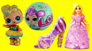 Disney Princess Magiclip Baby Toy Surprises With LOL Surprise Dolls Series 2 Wave