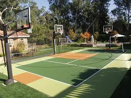 Multi-Purpose Game Courts | AllSport America, Inc. Backyard Basketball Court Multiuse Outdoor Courts Sport Sketball Court Ideas Large And Beautiful Photos This Is A Forest Green Red Concrete Backyard Bar And Grill College Park Go Green With Home Gyms Inexpensive Design Recreational Versasport Of Kansas 24x26 With Canada Logo By Total Resurfacing Repairs Neave Sports Simple Hoop Adorable Dec0810hoops2jpg 6 Reasons To Install Synlawn Small Back Yard Designs Afbead