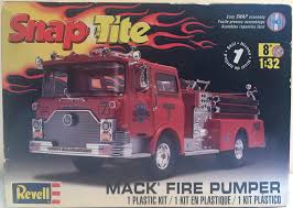 100 Model Fire Truck Kits Mack Pumper HobbyDB