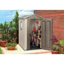 Step2 Lifescapestm Highboy Storage Shed by Jardin Jardin Shed 4 Ft X 6 Ft 17198297 Home Depot 498