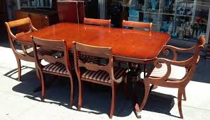 UHURU FURNITURE & COLLECTIBLES: SOLD #3493 Drexel New ... The Best Restaurants In Hamptons New York Riviera Style Extension Ding Table Hampton Bay Bayhurst Black Wicker Outdoor Patio Stationary Chair With Sunbrella Beige Tan Cushions 2pack Chairs Fables Id East Room Items Bernhardt How To Choose Your Tables And Wedding Fniture Covers Lennox Ding Chair Hampton Blue Modern Stylish Unique Originals Store Singapore Arm Chalk Serene Furnishings Brown Bonded Leather In Pair