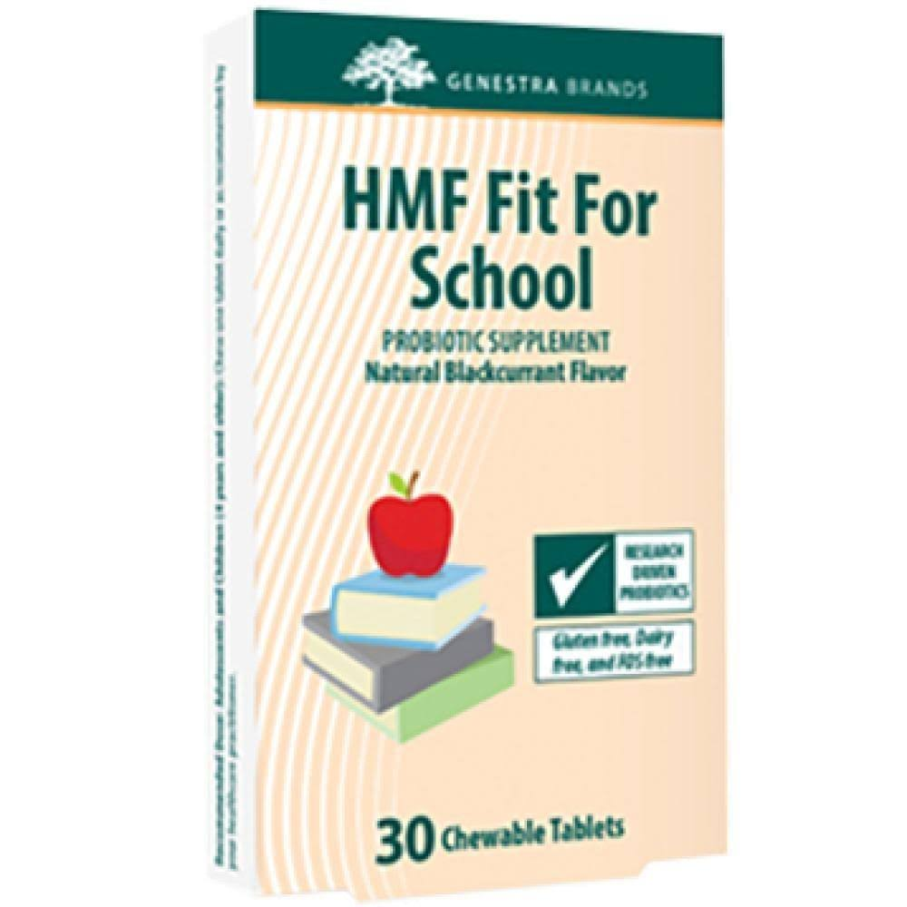 Genestra HMF Fit For School Probiotic Supplement - 30ct