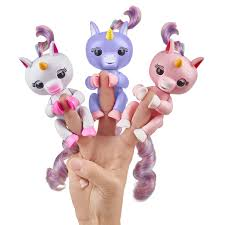 The New Fingerlings Unicorns From Left Gigi Alika And Gemma
