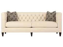 Bernhardt Foster Stationary Sofa by Bernhardt Interiors Sofas Transitional Styled Beckett Leather