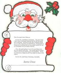 Letters To Santa Claus Letters From A Letter To Santa Claus