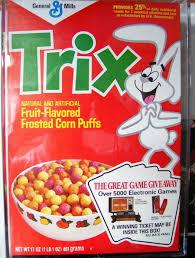 Cereal Box With Atari Give Away