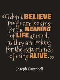 Joseph Campbell Inspirational Quote