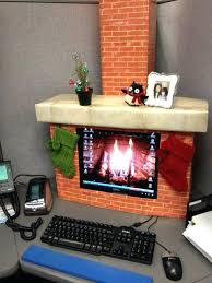 Cubicle Decoration Themes In Office For Diwali by 15 Christmas Cubicle Decorating Ideas To Bring In Some Cheer New