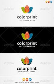 Color Print Logo By MuseFrame